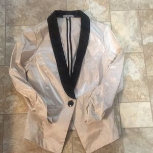 Champagne colored blazer